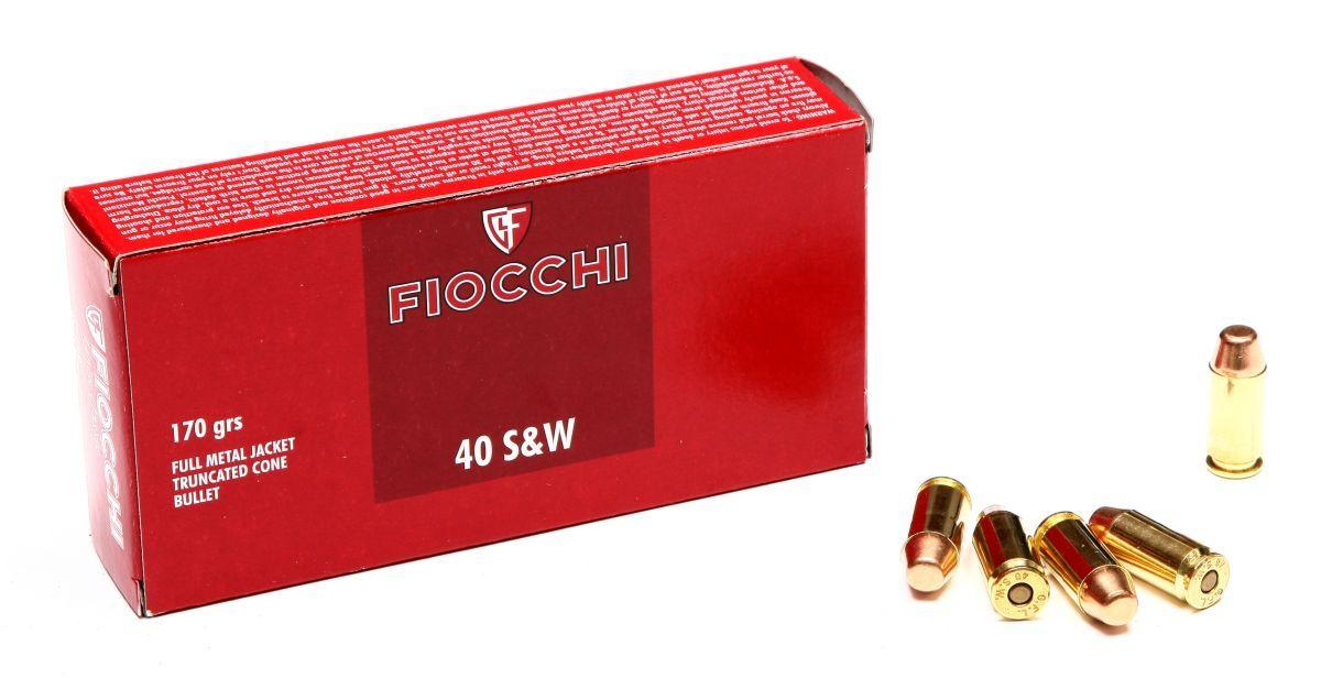 Fiocchi 40 S&W FMJTC