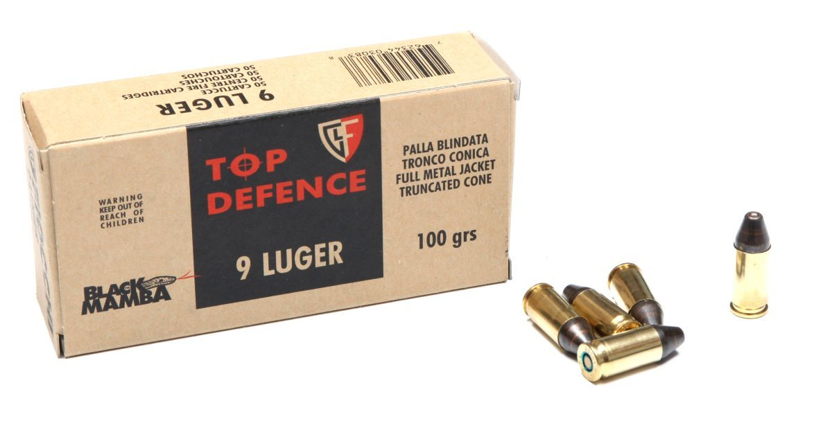 Náboj 9 Luger Black Mamba