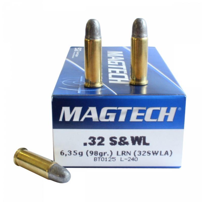 Náboj Magtech 32 S&W long LRN