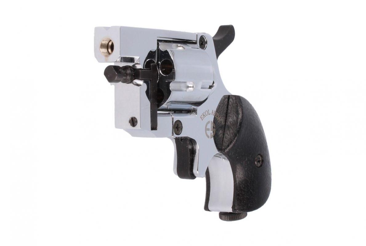 Flobertkový revolver Arda 4 mm stříbrný