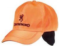 Čepice Browning oranžová - zimní