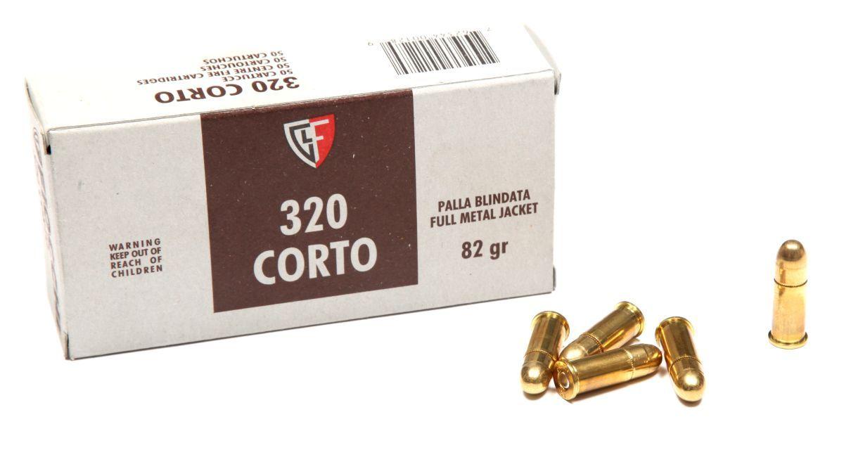 Náboj 320 Corto FMJ