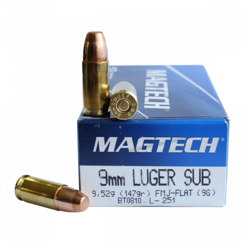 Střelivo Magtech 9 luger Subsonic 9,52 g