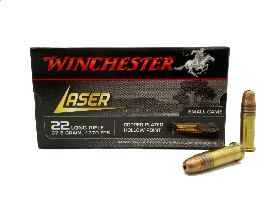 Malorážkový náboj Winchester 22 LR Laser
