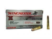 Winchester Super X 22 Hornet JHP 2,98 g