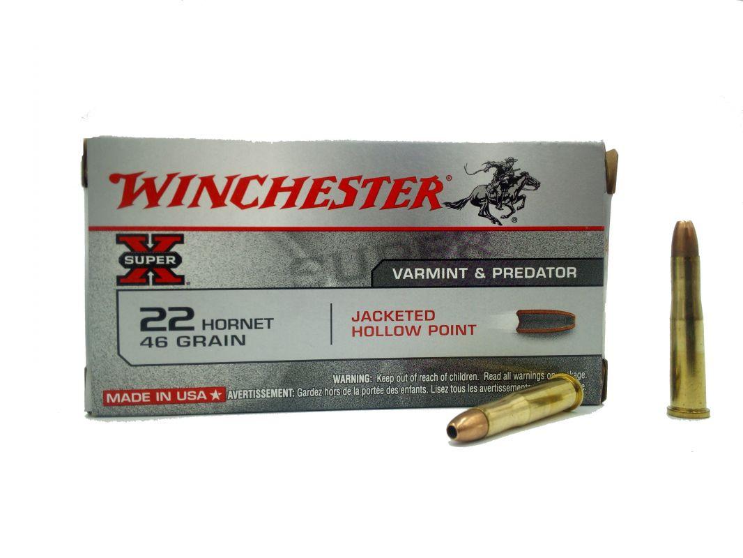Náboj Winchester 22 Hornet JHP