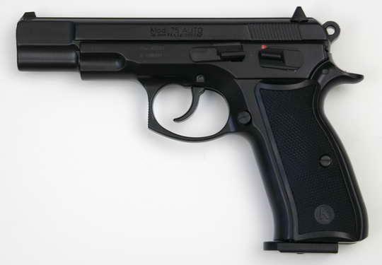 plynová pistole CZ 75