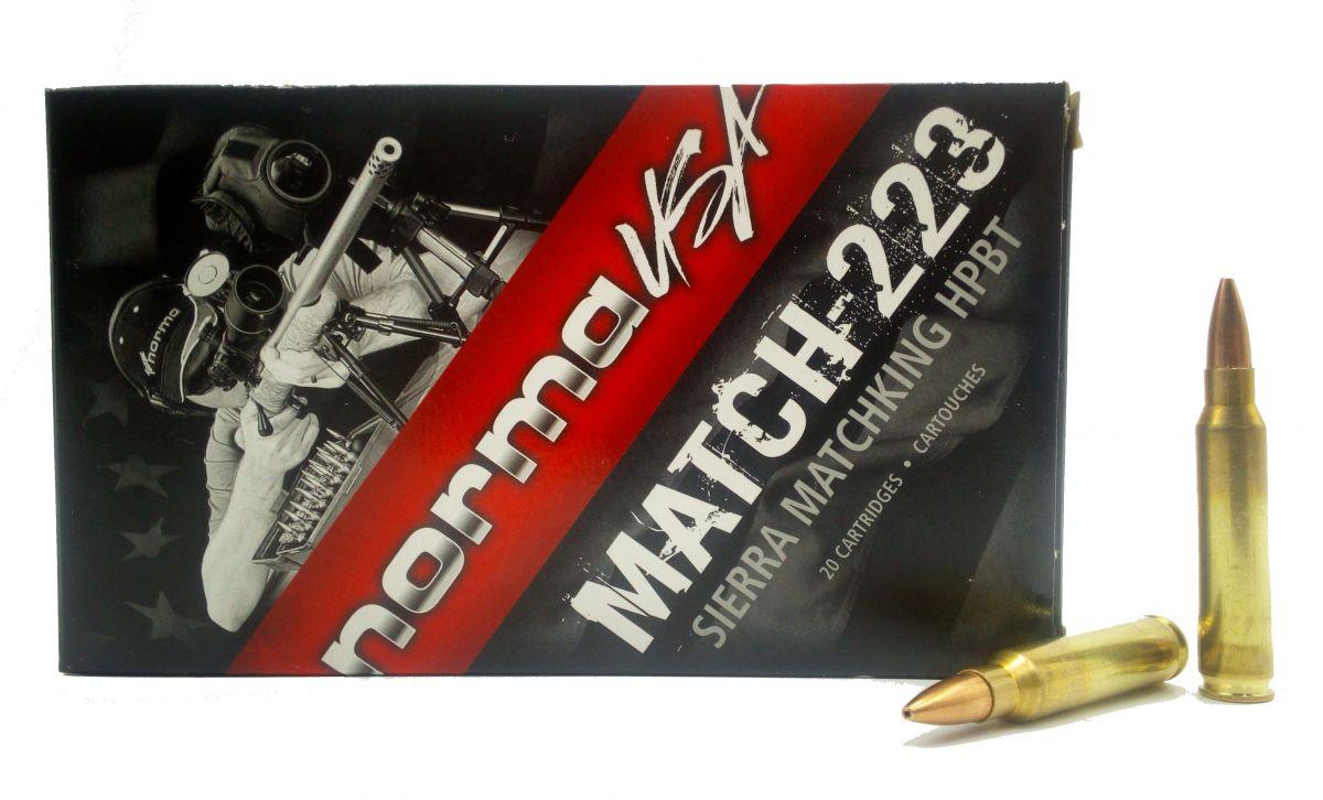 Norma 223 Rem Matchking 77 gr