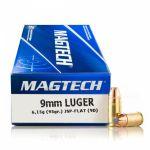 Magtech 9 mm Luger JSP 6,15 g