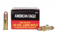 Federal 22 LR American Eagle HV HP 38 gr