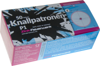 Knallpatronen - šrapnel 50 ks