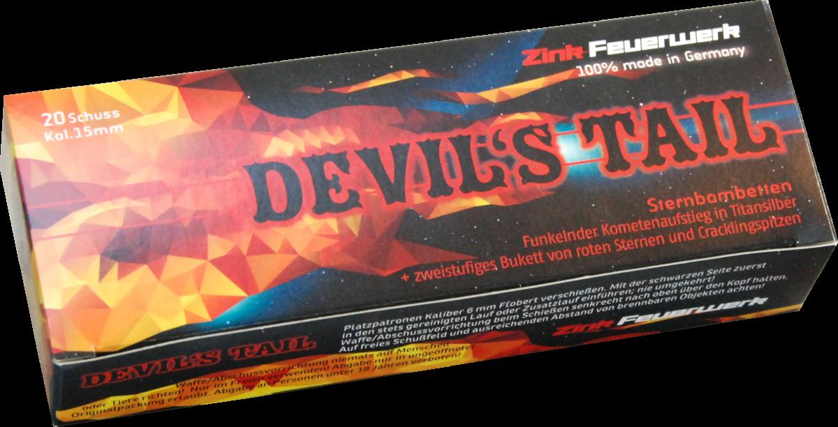 světlice Devils Tail