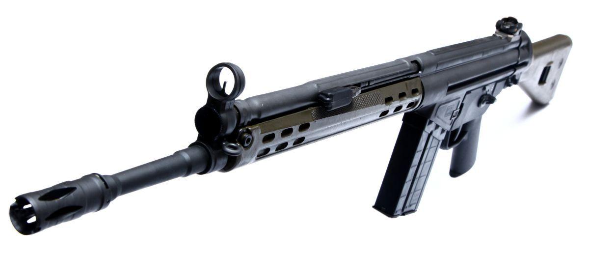 samonabíjecí puška G3 Pakistan Ordnance Factory