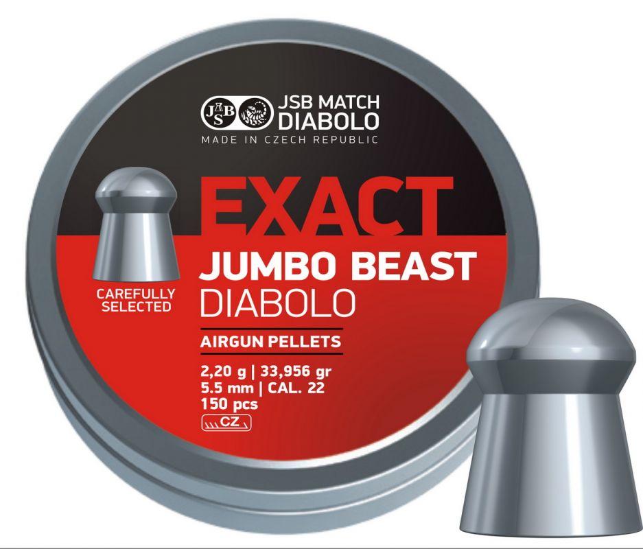 Schultz diabolo JSB Exact Jumbo Beast 5,5