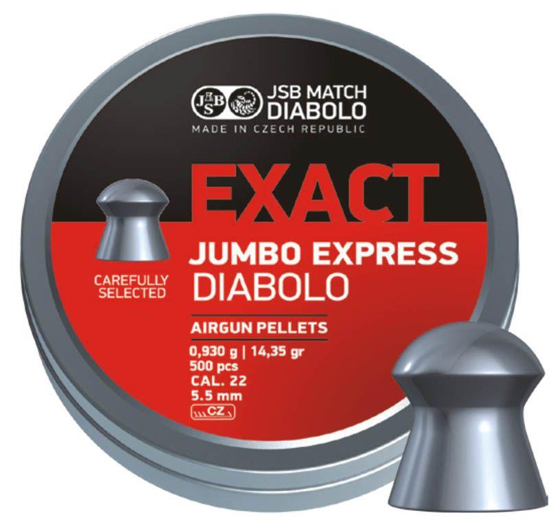Schultz diabolo JSB Exact Jumbo Express 5,5