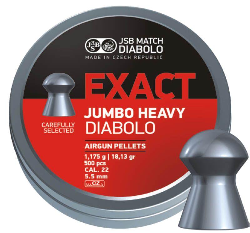 Schultz diabolo JSB Exact Jumbo Heavy 5,5