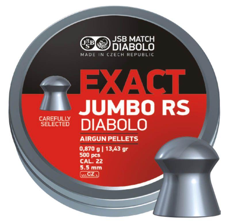 Schultz diabolo JSB Exact Jumbo RS 5,5