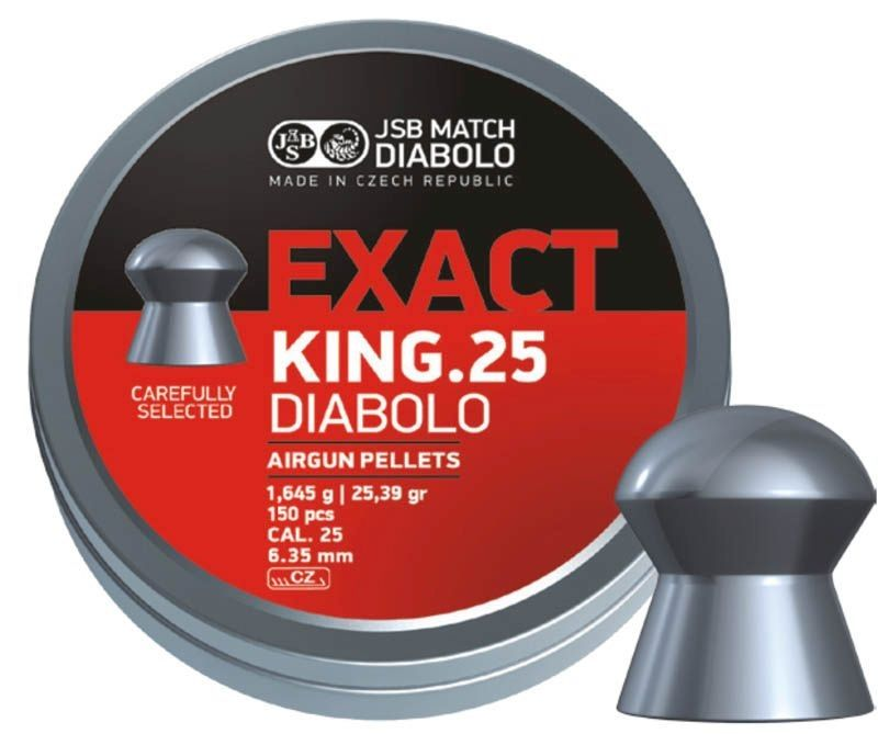 diabolky JSB Exact King 6,35 150ks