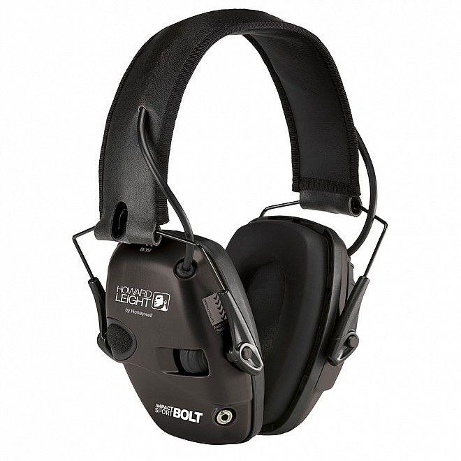střelecká elektronická sluchátka howard leight impact sport
