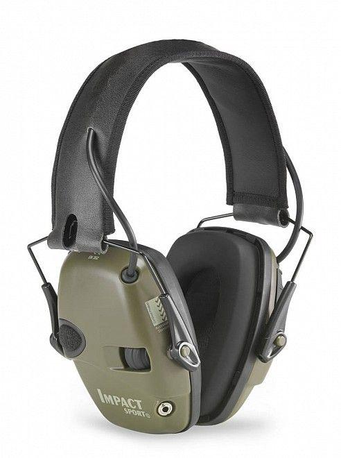 elektronická sluchátka honeywell impact sport