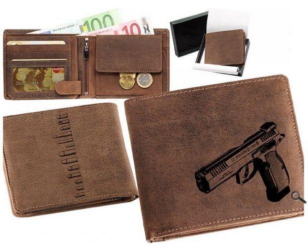 peněženka pistole cz shadow 2