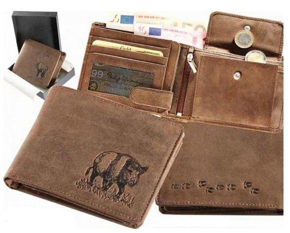 kožená peněženka divočák