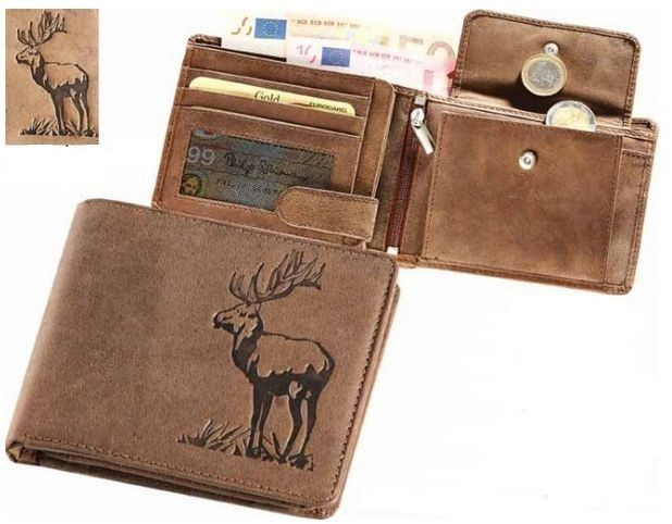 peněženka s jelenem