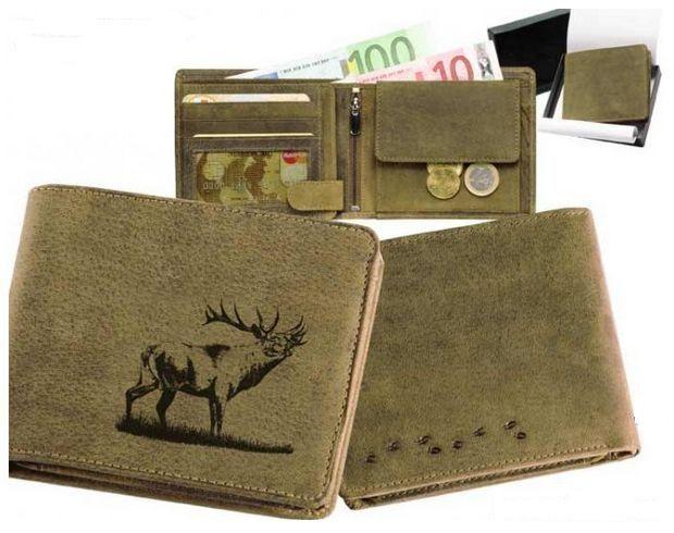 peněženka jelen