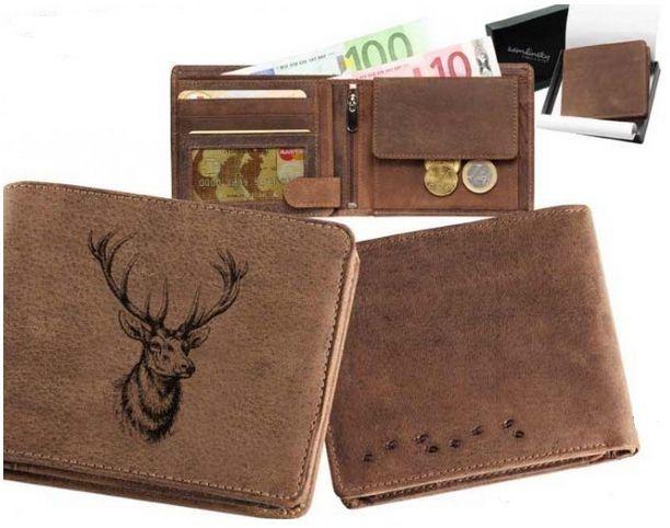 peněženka jelení hlava