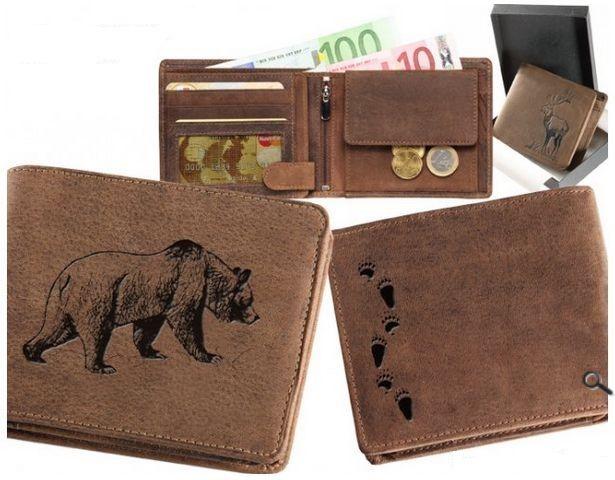 peněženka medvěd