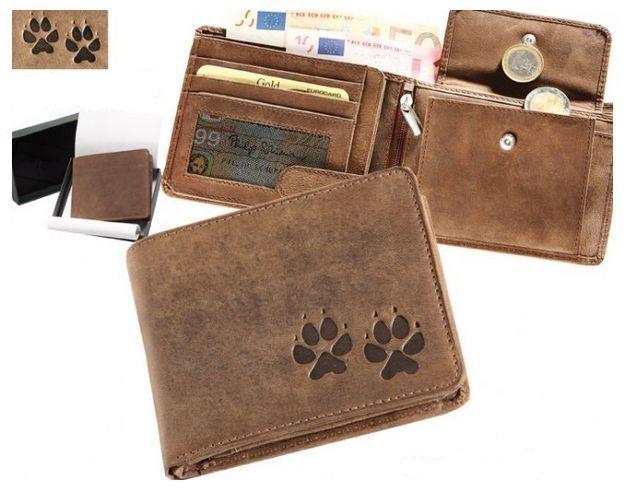 peněženka psí stopy