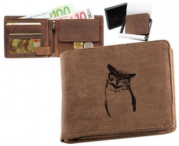 peněženka sova