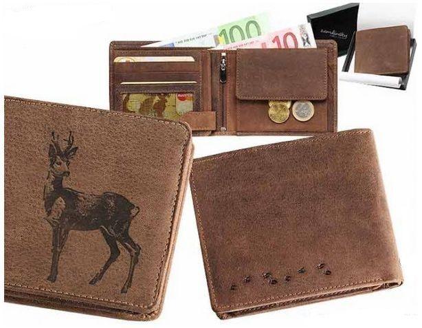 peněženka se srncem