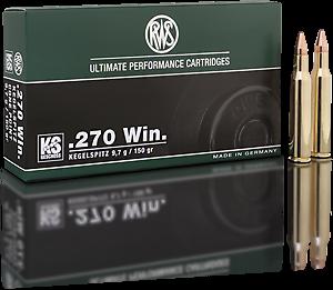 Náboj RWS 270 Winchester KS 9,7 g