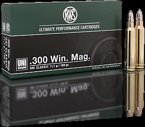 Lovecký kulový náboj RWS 300 Win Mag UNI Classic 11,7 g