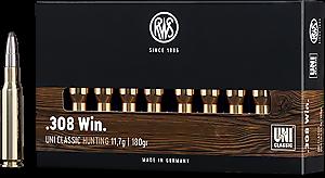 Kulový náboj RWS 308 Win UNI classic 11,7 g