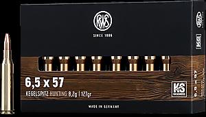 Kulový náboj RWS 6,5x57 KS