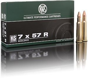 Náboj RWS 7x57 R KS 10,5g/162 gr