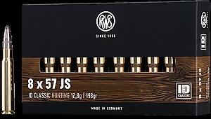 Náboj RWS 8x57 JS ID Classic 12,8 g