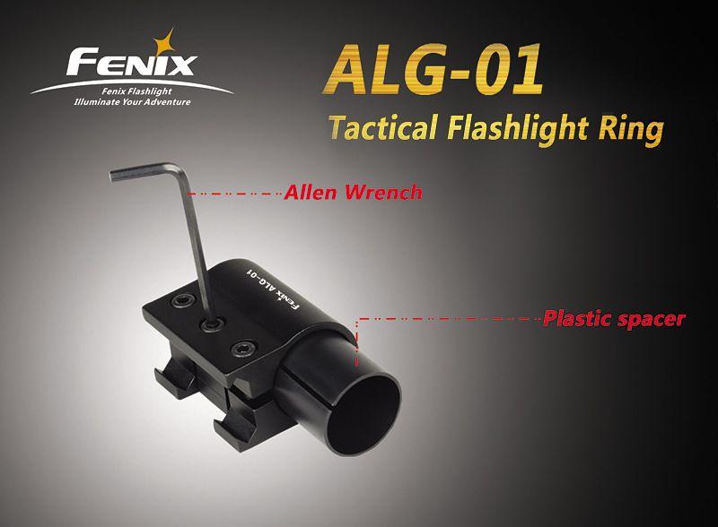 montáž na svítilnu Fenix ALG01