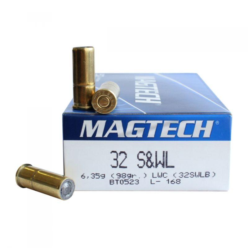 náboje magtech 32 sw long wadcutter