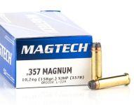 Magtech 357 Magnum SJHP 10,24 g