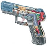 Pistole Heckler & Koch P30 řez