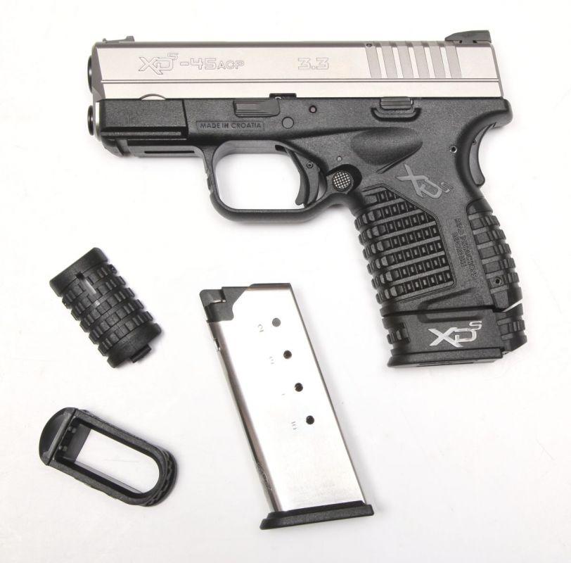pistole xds 45 acp nerez 3,3