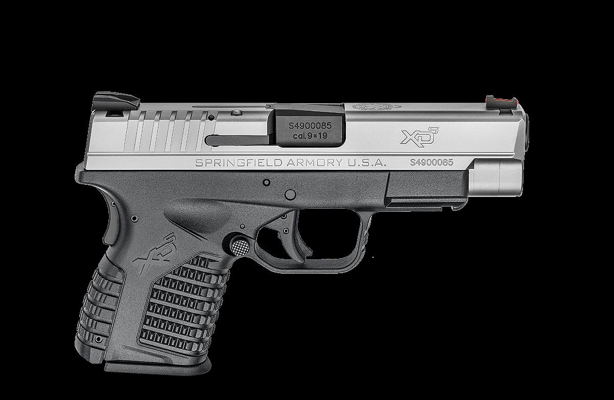 """pistole xds-9 4"""" nerez"""