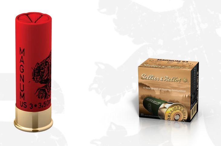 Brokový náboj 12/76 Magnum 53 g