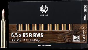 Kulový náboj RWS 6,5x65 R KS 8,2 g