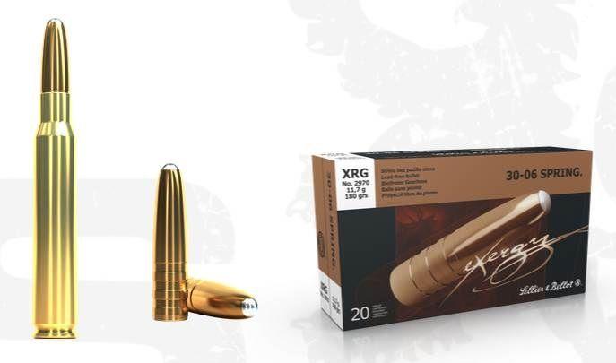 Kulový náboj S&B 30-06 Spring XRG