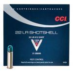 CCI 22 LR Shotshell, brokové