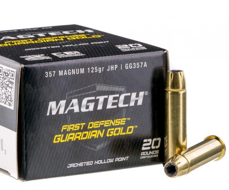 Revolverový náboj Magtech 357 Magnum JHP Firs Defence 8,1g